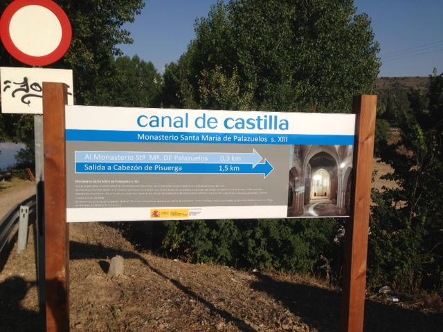 SeñalizacionCabezonCanalCastilla