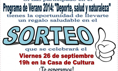 SorteoSaludDeporteNaturaleza260914