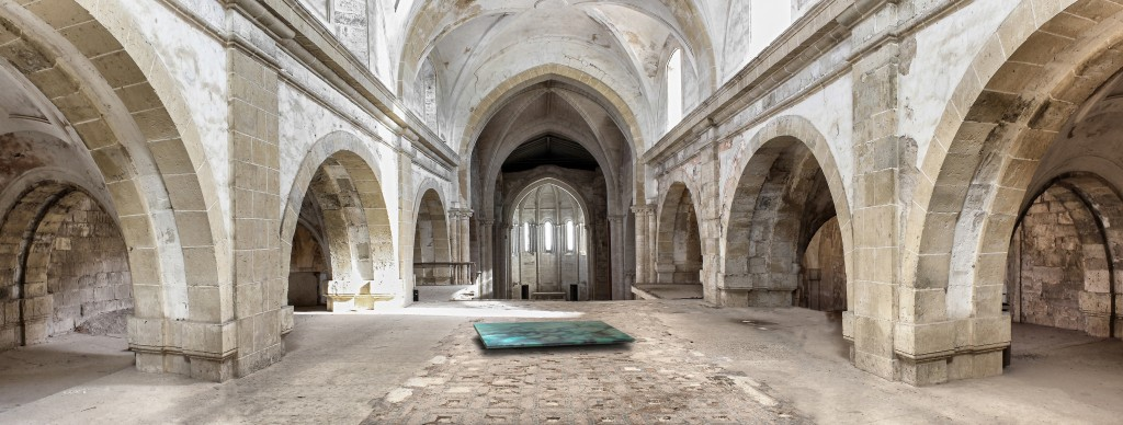 """Monasterio de Santa María de Palazuelos. """"Tierra Yacente"""".  Jav"""