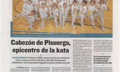 Reportaje Karate Shingitai en El Mundo
