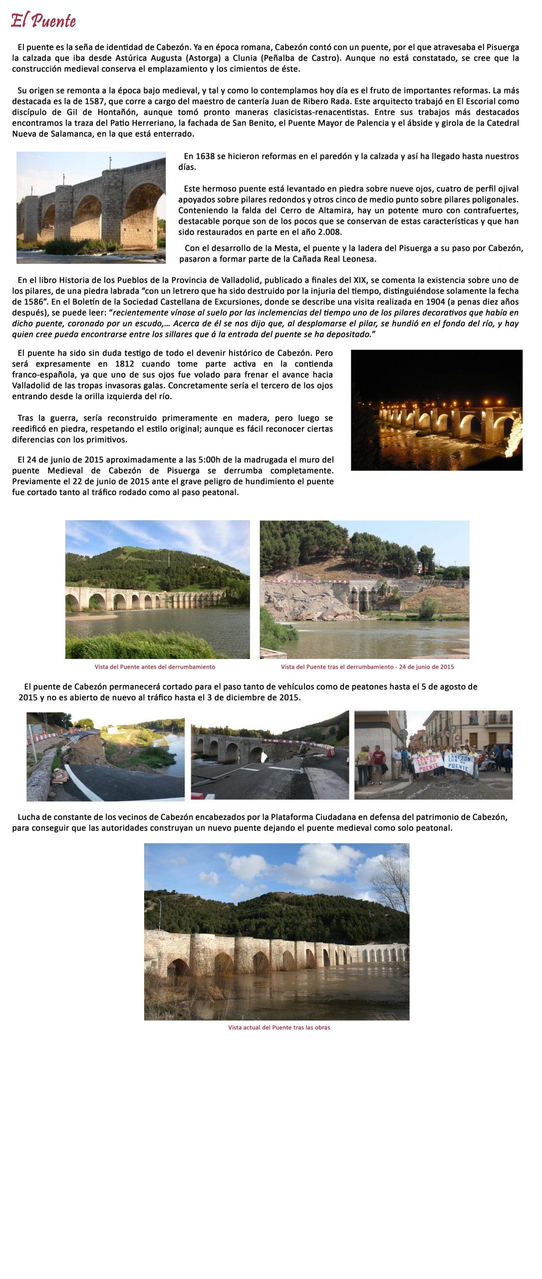 Puente Cabezón Pisuerga