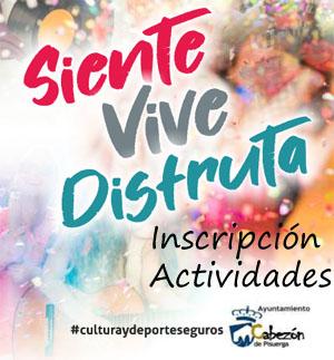 Inscripción a actividades culturales
