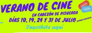 Cine de verano en Cabezón de Pisuerga